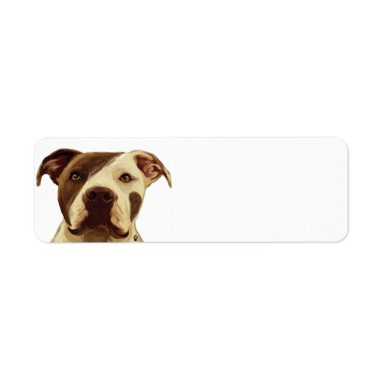Pit Bull Return Address Labels