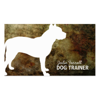 Pit Bull Staffy Pet Realated Pack Of Standard Business Cards