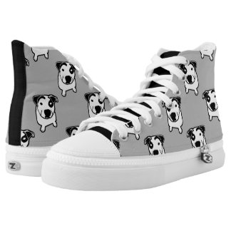 Pit Bull T-Bone Graphic High Tops