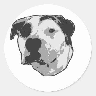 Pit Bull T-Bone Sticker