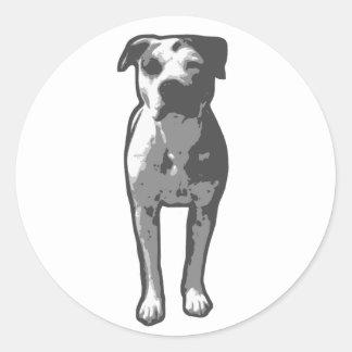 Pit Bull T-Bone Stickers