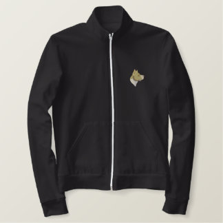 Pit Bull Terrier Embroidered Jacket