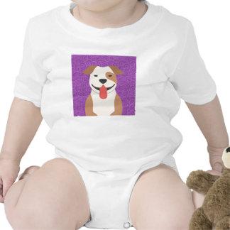 Pit Bull Terrier Infants Creeper