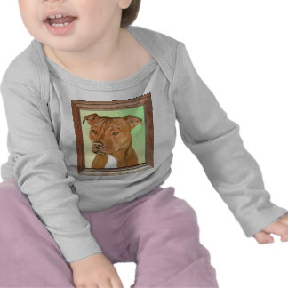Pit Bull Terrier Painting T-shirt