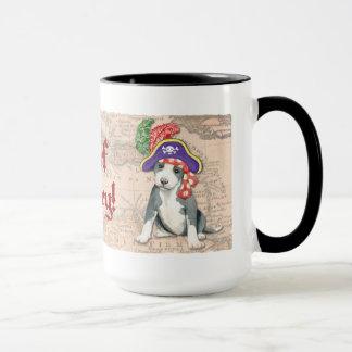 Pit Bull Terrier Pirate Mug