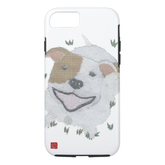 Pit Bull Terrier, Pittie, Pitbull, Dog iPhone 7 Case
