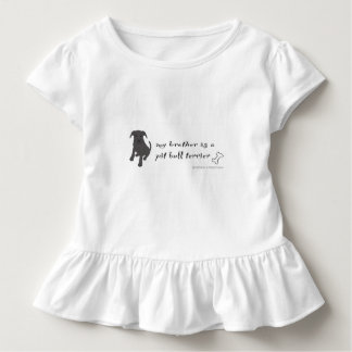 pit bull terrier toddler T-Shirt