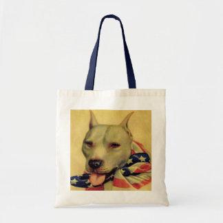 Pit Bull, World War 1 Budget Tote Bag