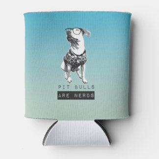 Pit Bulls are Nerds Coozy Can Cooler
