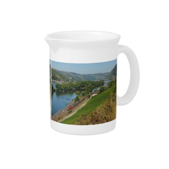 Pit Cher central Rhine Valley with Lorch Beverage Pitcher