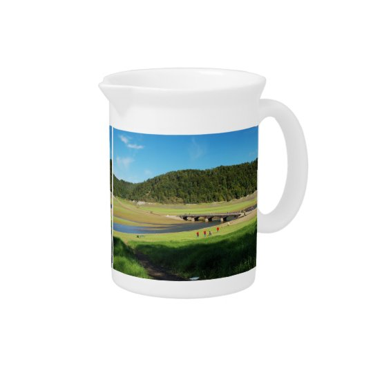 Pit Cher Edersee old bridge Asel Beverage Pitchers