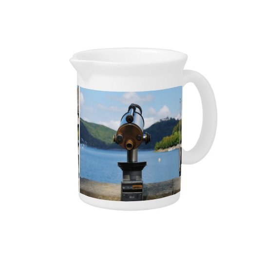Pit Cher Edersee with telescope Pitcher