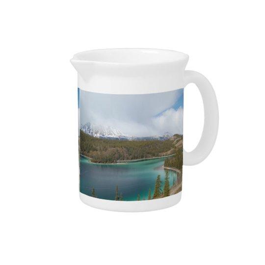Pit Cher Emerald Lake Beverage Pitcher
