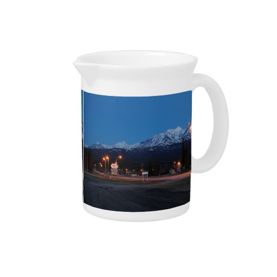 Pit Cher Haines Junction blue hour Pitcher