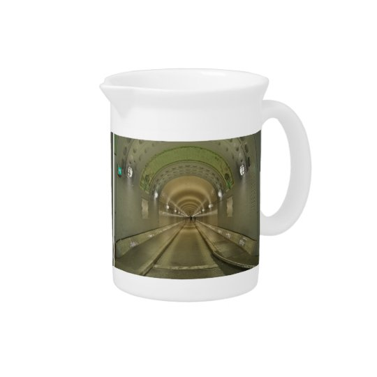 Pit Cher Hamburg of old Elbe tunnels Beverage Pitcher