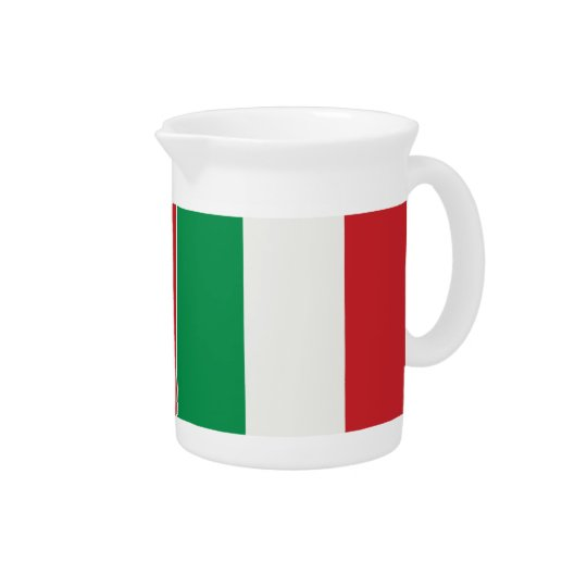 Pit Cher Italy flag Drink Pitchers
