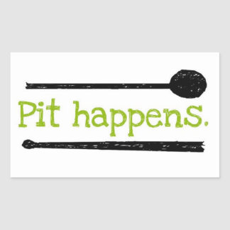 Pit Happens sticker