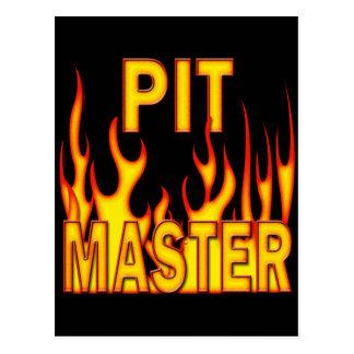 Pit Master Postcard