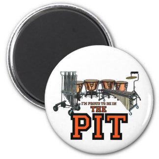 Pit Pride 6 Cm Round Magnet