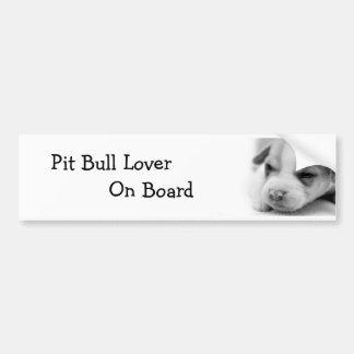 Pit Puppy  Bumper Sticker