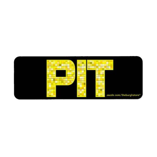 PIT Tile Return Address Stamp
