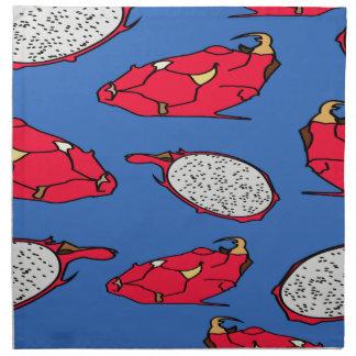 Pitaya fruit pattern napkin