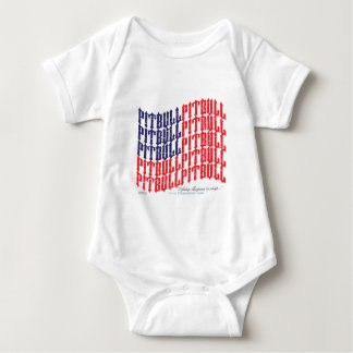 PITBULL American Flag T-shirts