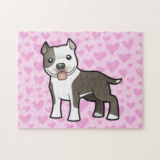 Pitbull / American Staffordshire Terrier Love Puzzles