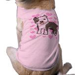 Pitbull / American Staffordshire Terrier Love Sleeveless Dog Shirt