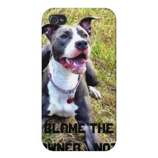 Pitbull awareness case Iphone iPhone 4 Cases
