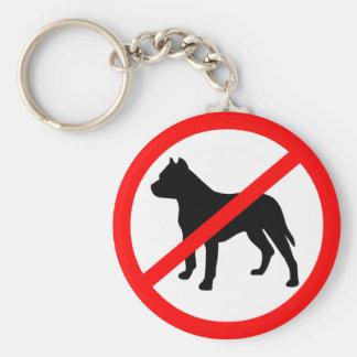 Pitbull Ban Key Chain