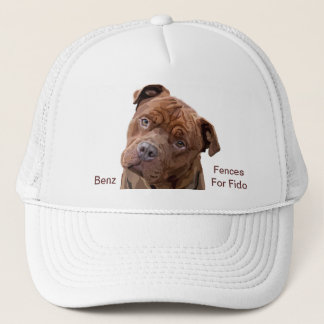"Pitbull ""Benz"" of Fences For Fido Cap"