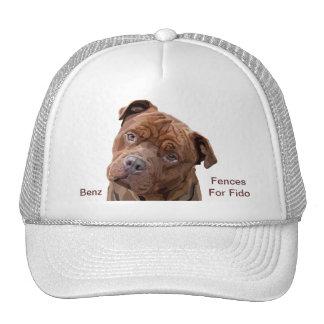"""Pitbull """"Benz"""" of Fences For Fido Cap"""