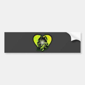 Pitbull Bumper Sticker