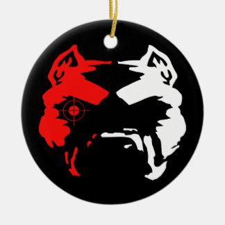 Pitbull Christmas Ornament
