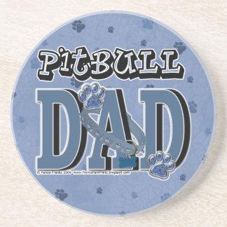 Pitbull DAD Drink Coasters