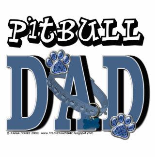 Pitbull DAD Standing Photo Sculpture