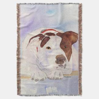Pitbull Dog blanket