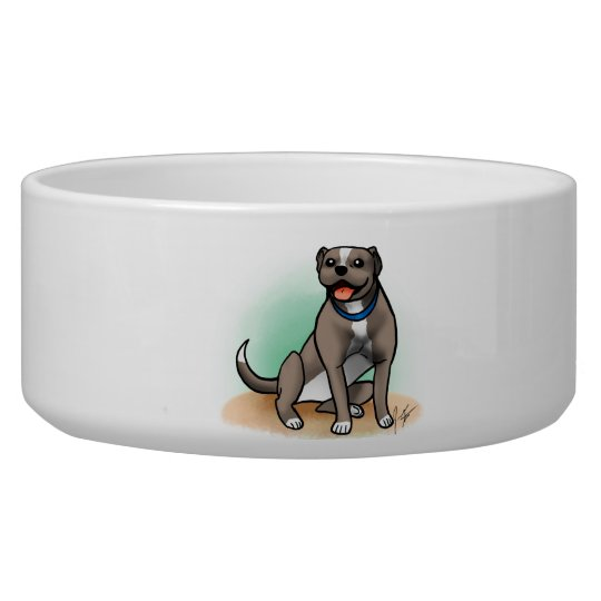 Pitbull Dog Bowl