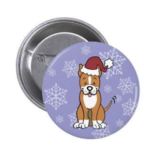 Pitbull Dog Button