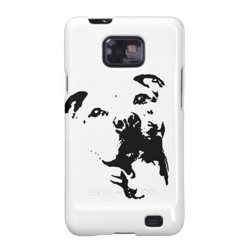 Pitbull Dog Galaxy SII Cover