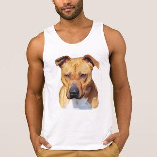 Pitbull Dog Men's Ultra Cotton Tank Top