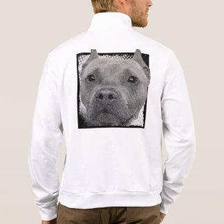 Pitbull dog printed jacket