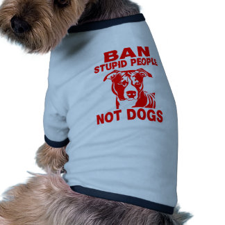 PITBULL RINGER DOG SHIRT