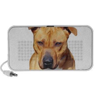 Pitbull dog speakers