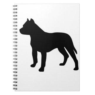 Pitbull Dog Spiral Notebook