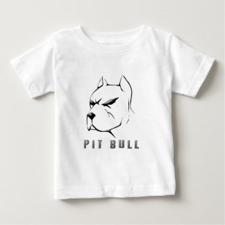 Pitbull draw t shirt