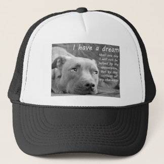 Pitbull dream trucker hat
