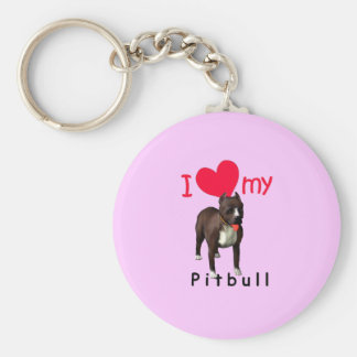 Pitbull Key Ring