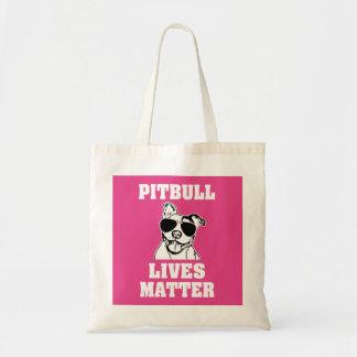 Pitbull Lives Matter funny Bully bag